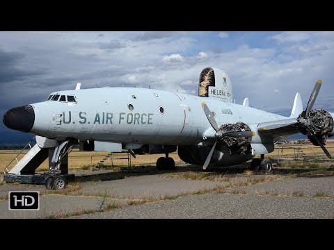 Lockheed EC-121T Warning Star / Lockheed Constellation - CLOSE-UP