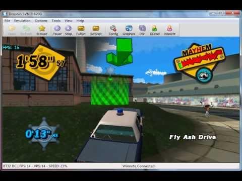 Emergency Mayhem On Dolphin V2.0 - Nintendo Wii Emulator