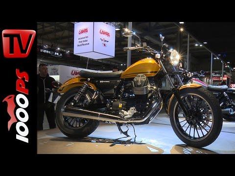 Moto Guzzi Modelle 2016 | V9 Roamer und V9 Bobber