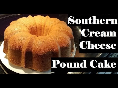 Southern Cream Cheese Pound Cake   Holiday Dessert