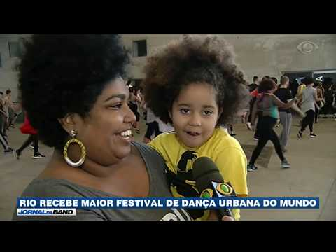 Rio de Janeiro recebe maior festival de dança urbana do mundo