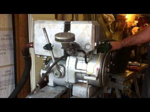 vire 7 engine running test after economy rebuild