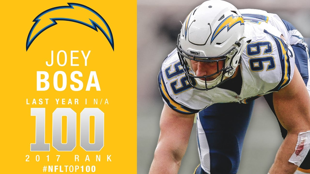 100: Joey Bosa (DE, Chargers) | Top 100 Players of 2017 | NFL ...