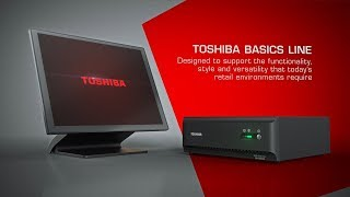 The toshiba basics line of pos solutions are designed to support functionality, style and versatility today's retail environments require,making them the...