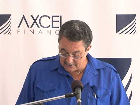 OPENING OF AXEL FINANCE (VIEUX-FORT)