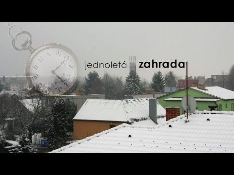 jednoletá ZAHRADA | oneyear GARDEN (2014) full timelapse documentary