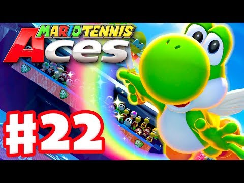 Mario Tennis Aces - Gameplay Walkthrough Part 22 - Yoshi! Online Tournament! (Nintendo Switch) - 동영상