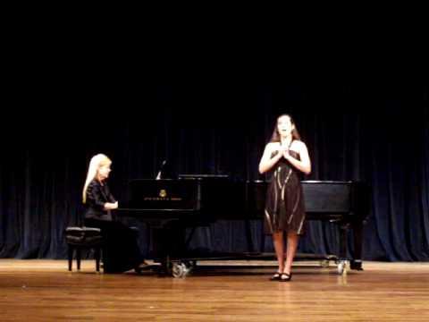 Samantha Gillen sings Beneath the Cypress Shade