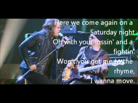 Caleb Johnson-Travelin' Band-American Idol 13[Lyrics]