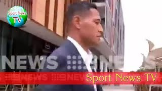 Israel Folau Emerges At A Sydney Cafe After Controversial Comments Prove Fatal Blow To Rugby Star's