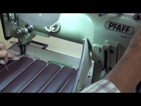 On Top Stitches Foamed Channels/Pleats - Upholstery Basics