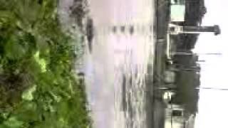 大柏川 増水