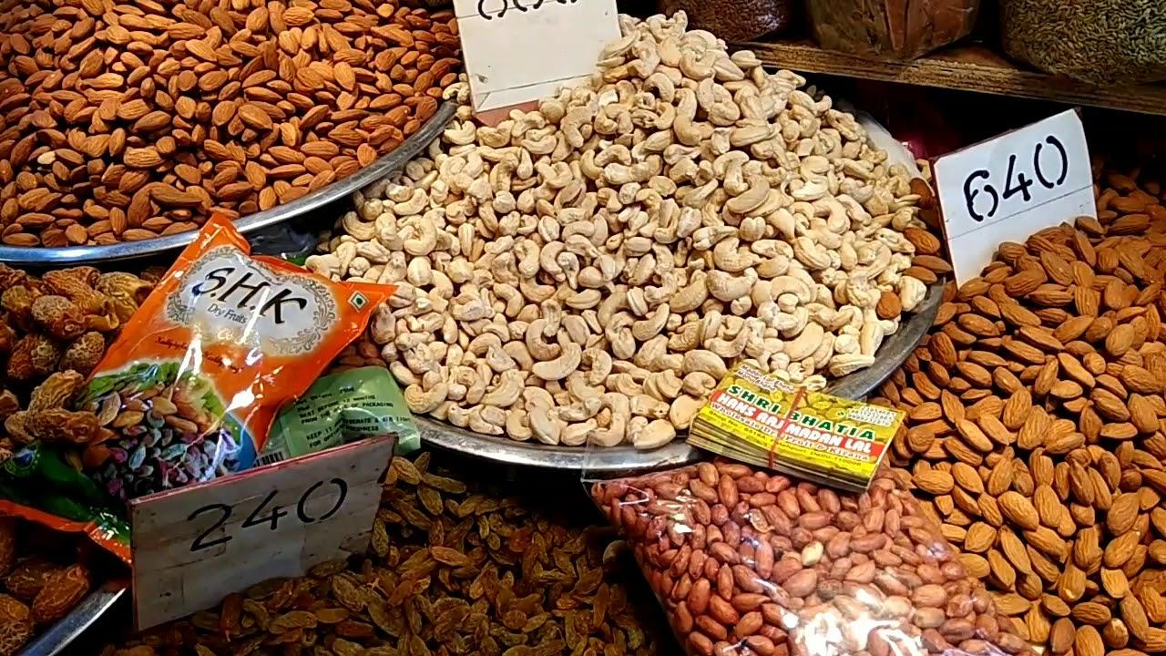 Wholesale Dry Fruit market in Delhi  40% saving 