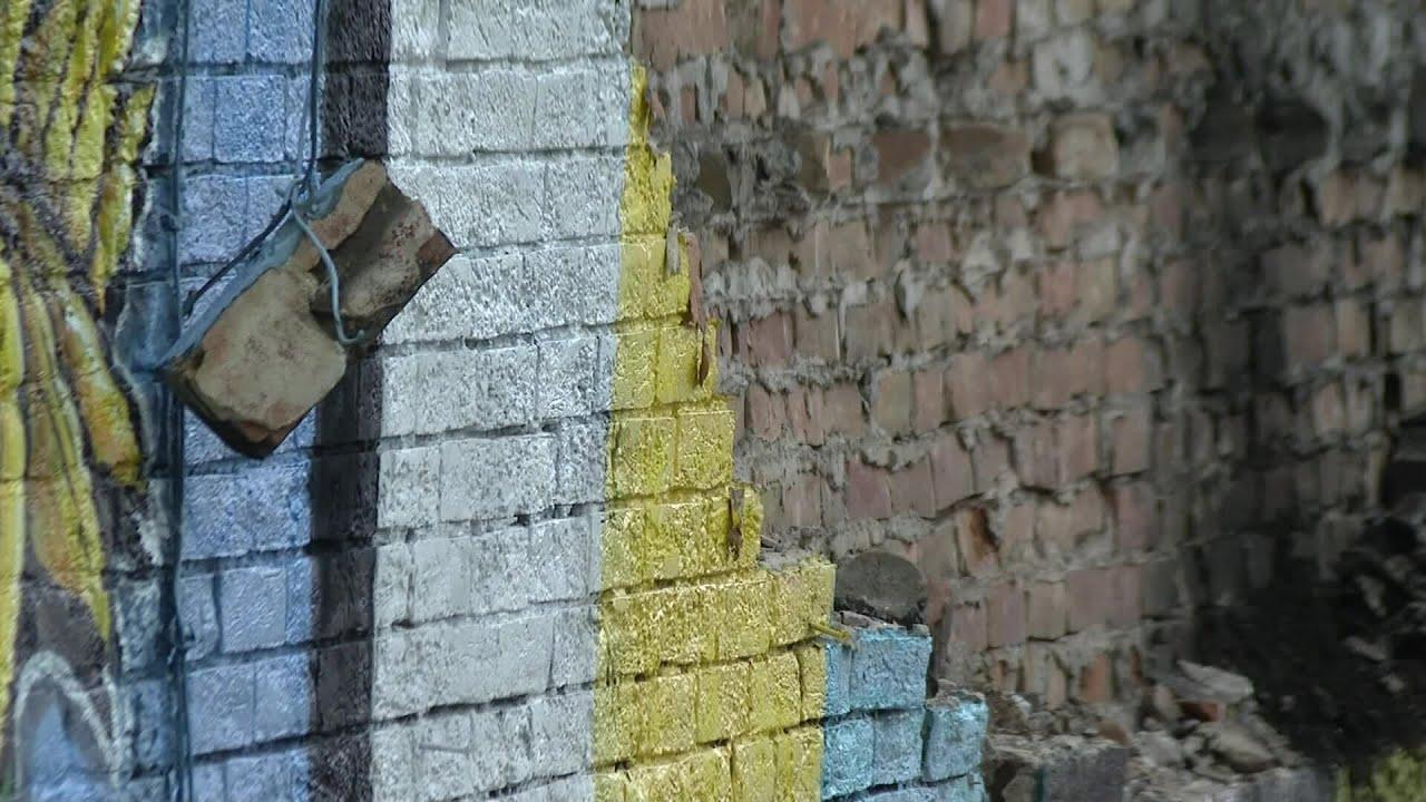 Lightning destroys George Floyd mural in Ohio