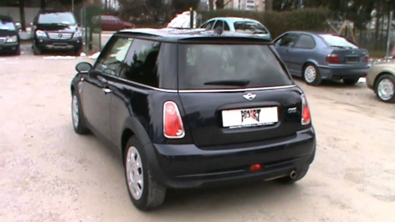 2007 Mini One 14 Reviewstart Up Engine And In Depth Tour Youtube