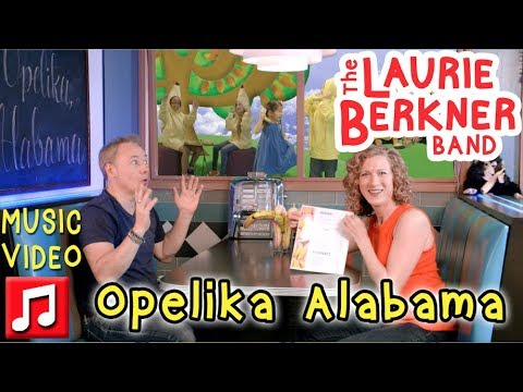 """Opelika Alabama"" by The Laurie Berkner Band (feat. Brady Rymer) - From Superhero Album"