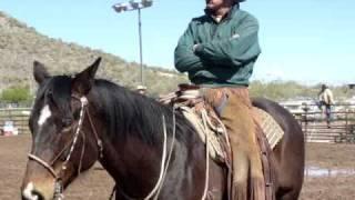 Buck Brannaman Clinic; New River, AZ 2011