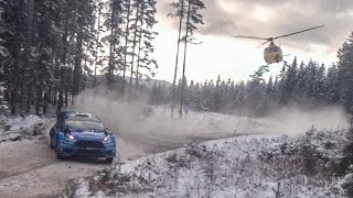 WRC Rally Sweden 2016: Powerstage Highlights - GHrallyemotion