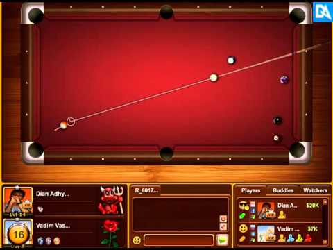 Pool Billiard Online by ForteGames [ME VS VADIM VASILYEV]