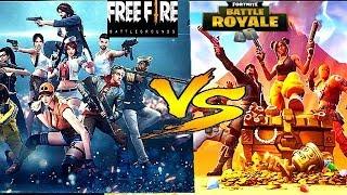 Fortnite Battle Royale vs Free Fire, welches Spiel ist am besten in Deiner Meinung