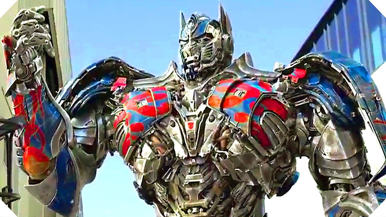 transformers 5 funny optimus prime trailer (2017) - youtube