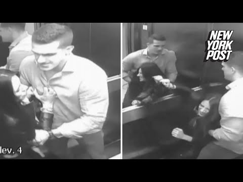 Damning Footage Shows Husband Dragging Wife's Corpse Into Elevator