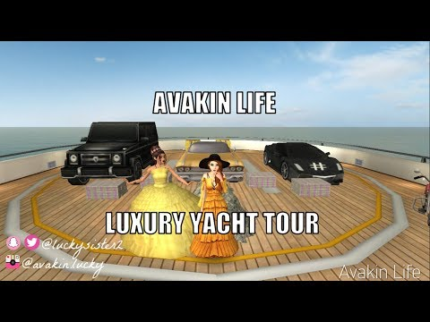 Avakin Life: ♡ Luxury Yacht Tour Review ♡