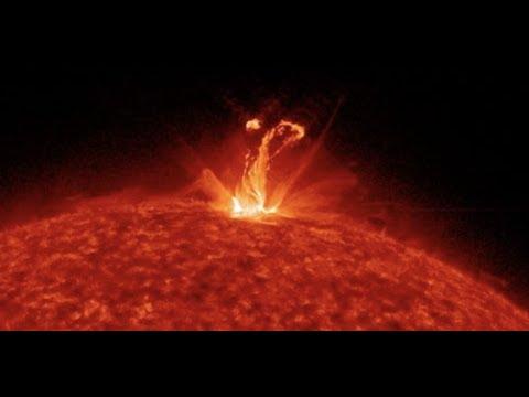 The Sun Unleashed a Huge Cloud of Plasma Into Space - Farside Coronal Mass Ejection 723 views •Dec 14, 2019 Hqdefault
