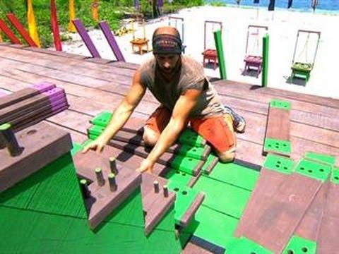 Survivor: Cagayan - Immunity Challenge:  Jacobs Ladder