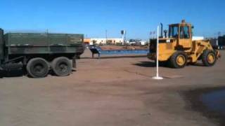 M35A2 vs Front loader tug of war