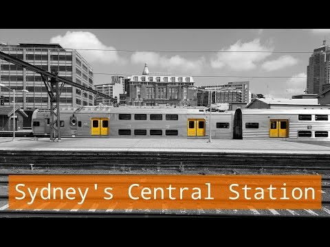 Sydney Trains Vlog 1250: Sydney's Central Station