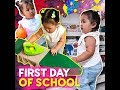 First day of school | KAMI |  1-year-old Talitha