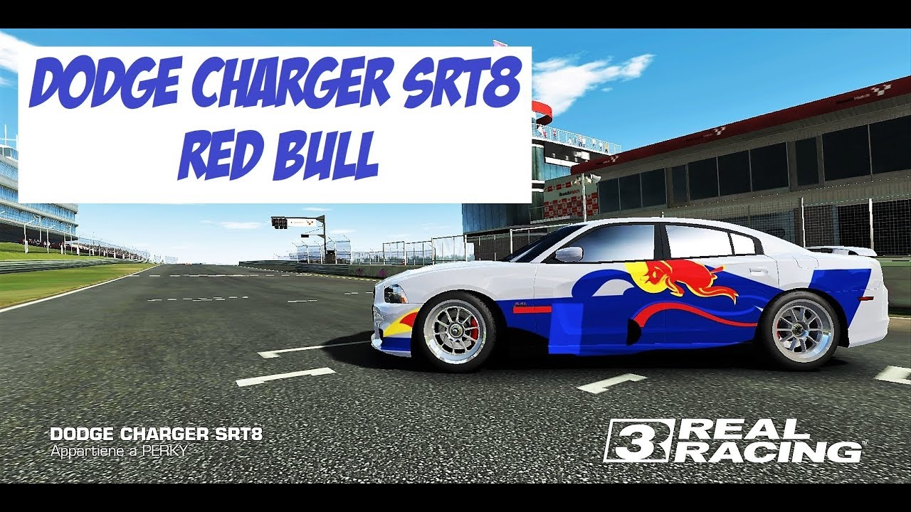 Real racing 3 how to make f1 livery with decals red bull
