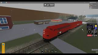 ROBLOX Geometry Train and Bridge Collapsed