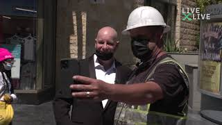 Jeff Ross Takes to The Streets of Hollywood in Honor of This Year's Oscars