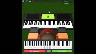 Sword Art Online - Crossing Field by: Shō Watanabe on a ROBLOX piano.