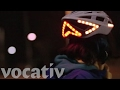 They Put Turn Signals On A Bike Helmet