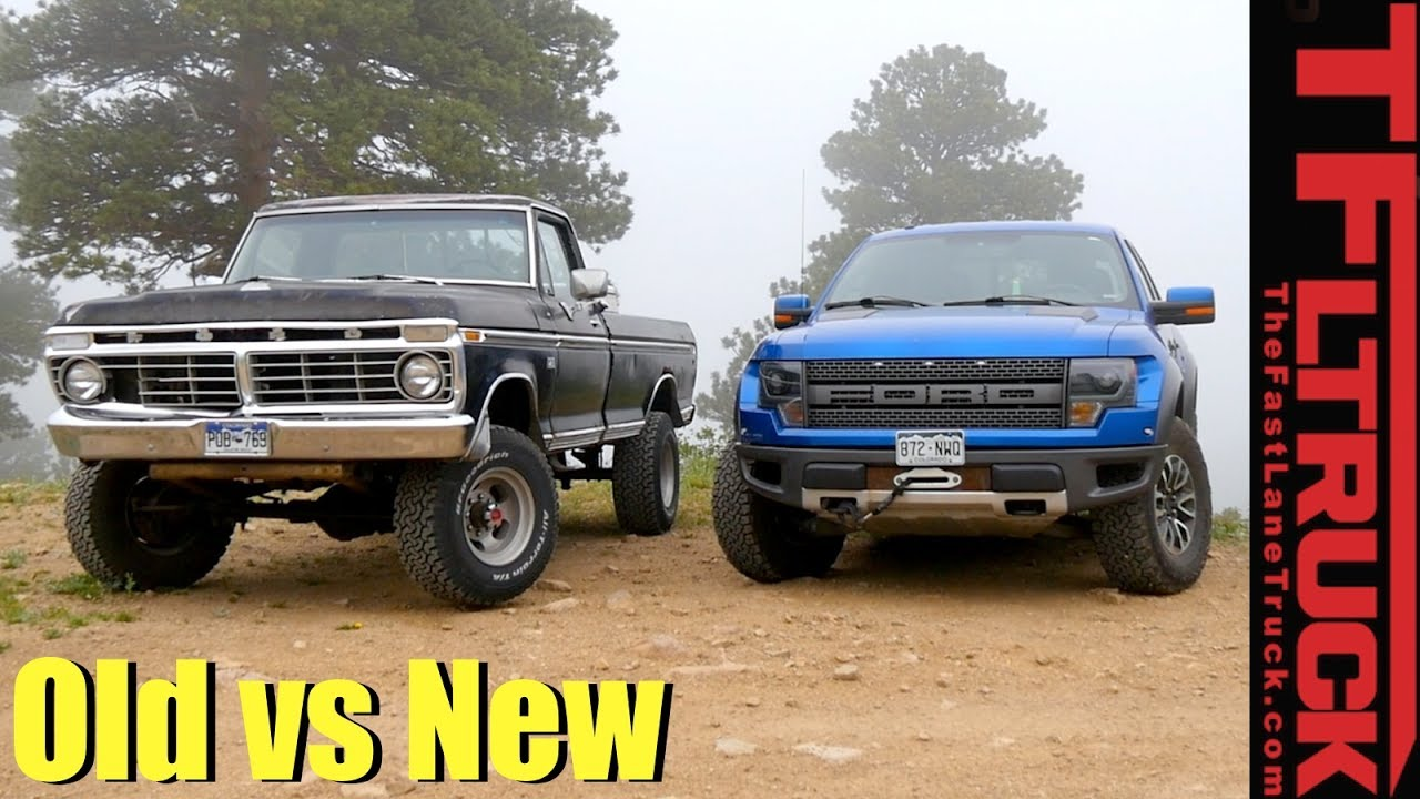 Old vs New: 1974 Ford Highboy vs Raptor vs Cliffhanger 2.0 ...