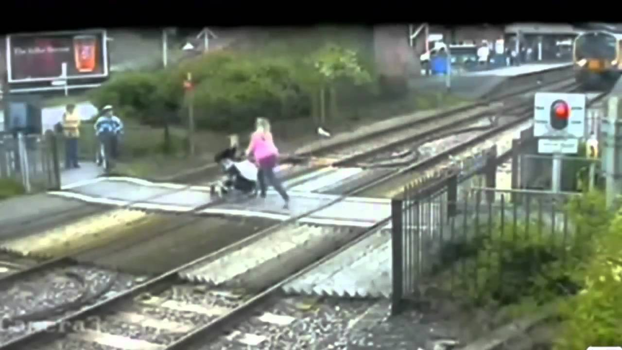 More moments of madness at UK's level crossings