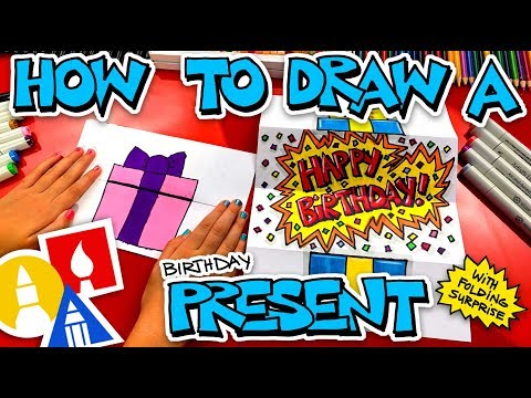 how-to-draw-a-birthday-present-folding-surprise