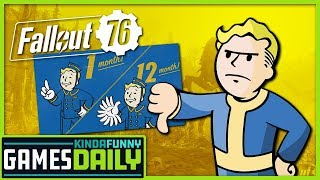 The Latest Fallout 76 Controversy - Kinda Funny Games Daily 10.23.19