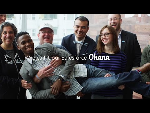 Welcome Salesforce Ohana to Dreamforce 2016