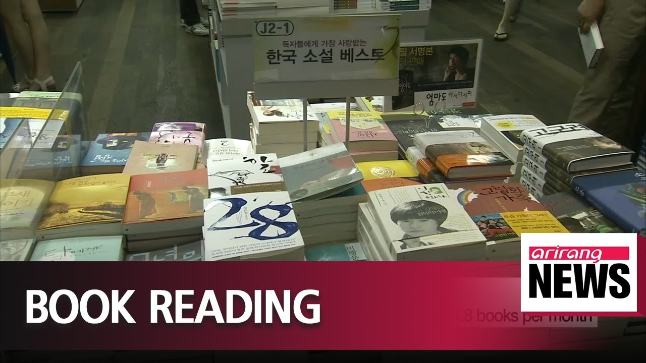 South Korean high school students read average of 1 8 books per month