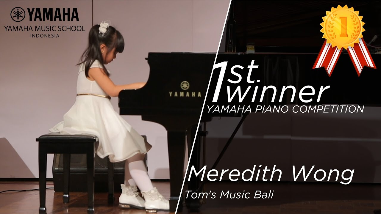 Yamaha Piano Competition 2018, 1st Winner Junior A - Meredith Wong (Tom's  Music Bali)