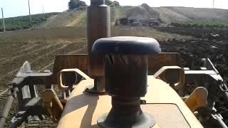 Fiat allis FA 120 in aratura bivomare Nardi
