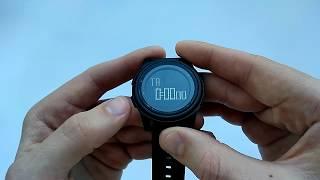 Ультратонкие водонепроницаемые часы Skmei 1206 обзор, настройка, инструкция на русском, отзывы