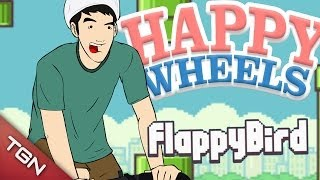Happy Wheels: FLAPPY BIRD