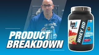 WHEY HD - Ultra Premium Whey Protein