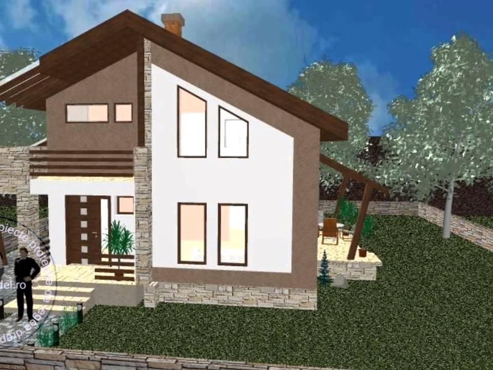 Proiecte case proiect casa picaso imagini case youtube for Imagini case moderne