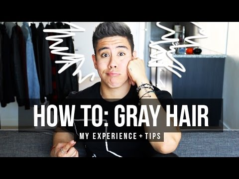 HOW TO GRAY HAIR MY EXPERIENCE SALON FOOTAGE Amp TIPS
